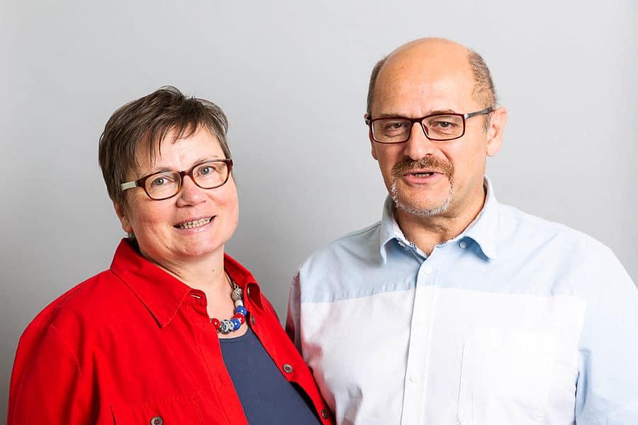 Beatrice Daum (Oktopus Bürodienste) und Gernot Daum (Datenwege Informatik Webentwicklung)